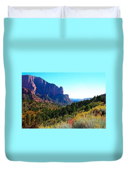 Kolob Canyon Duvet Cover
