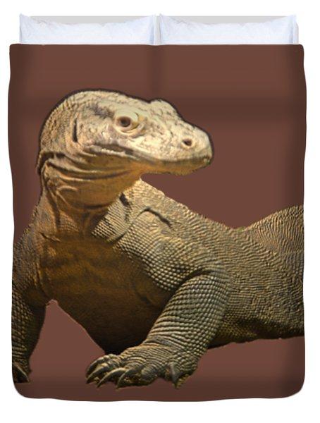 Komodo Dragon Tee Shirt Duvet Cover
