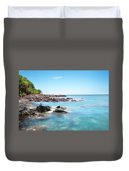 Kona Hawaii Reef Duvet Cover