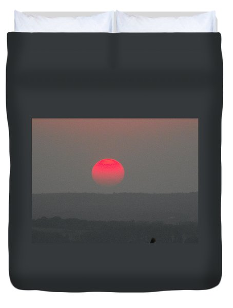 Konza Sunset Duvet Cover
