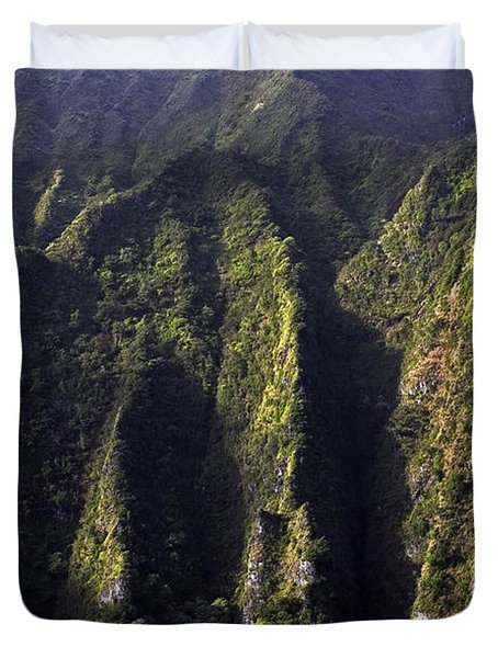 Koolau Range, Oahu Duvet Cover