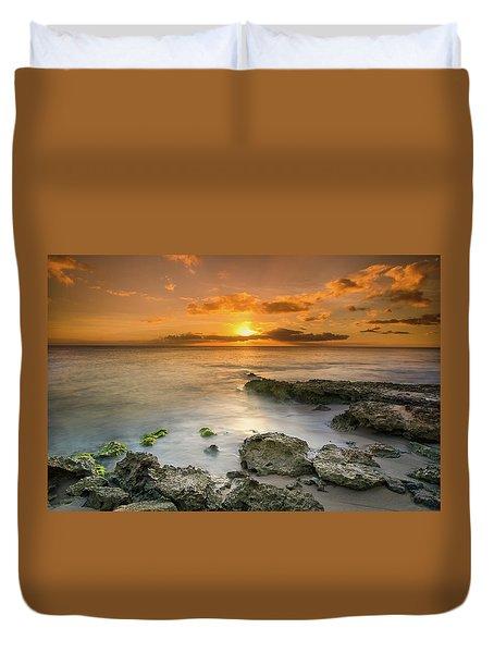 Koolina Sunset At The Cove Duvet Cover