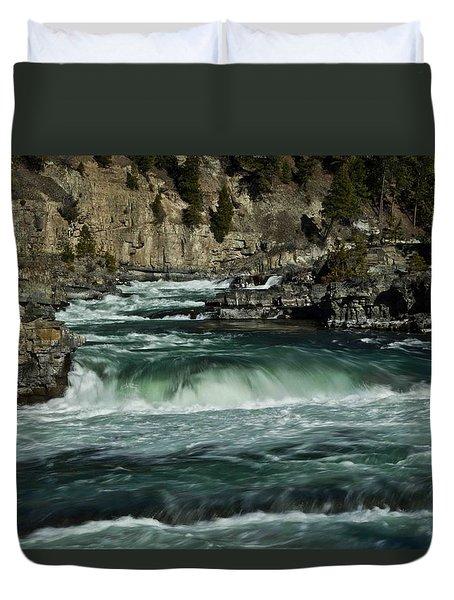 Kootenai Falls, Montana 2 Duvet Cover
