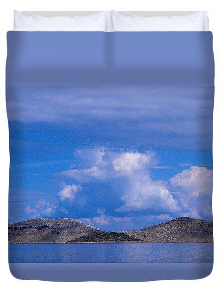 Kornati National Park Duvet Cover