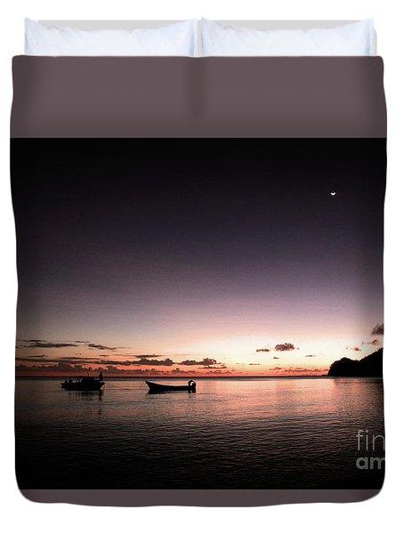 Korovou Island Fiji Duvet Cover