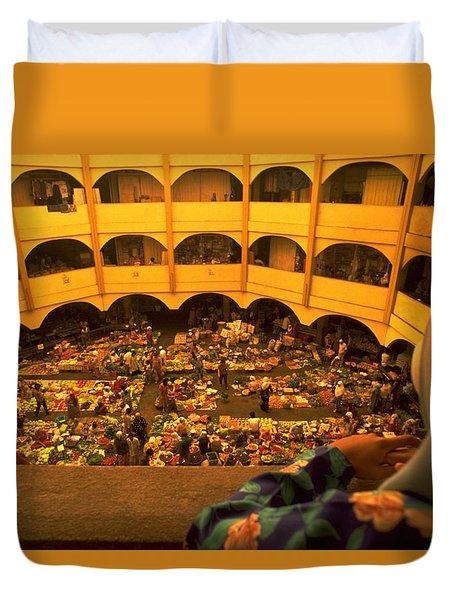 Kota Bahru Indoor Market Duvet Cover