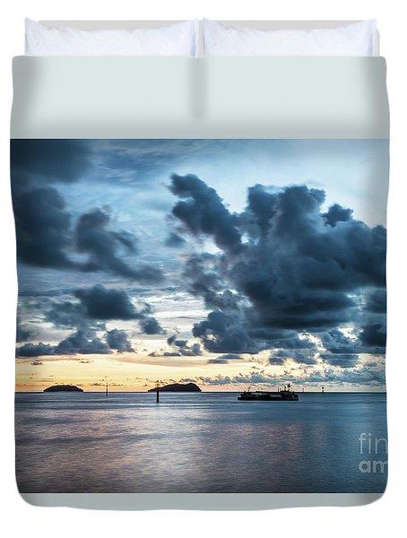 Kota Kinabalu Sunset Duvet Cover