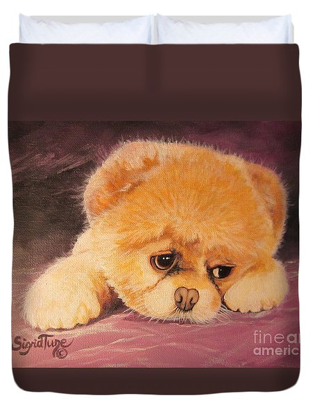 Koty The Puppy Duvet Cover