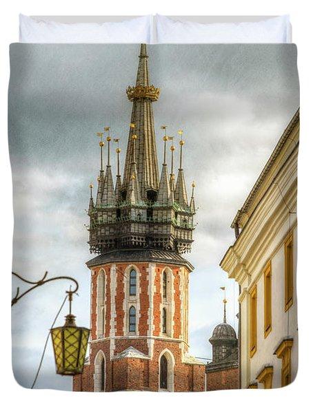 Krakow, Poland Duvet Cover