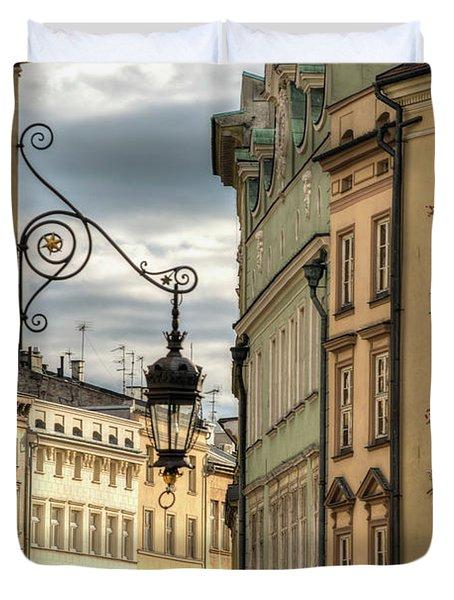 Krakow, Poland, Old Town  Duvet Cover
