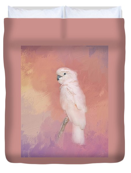 Kramer The Moluccan Cockatoo Duvet Cover