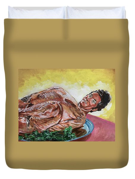 Kramer Turkey Duvet Cover