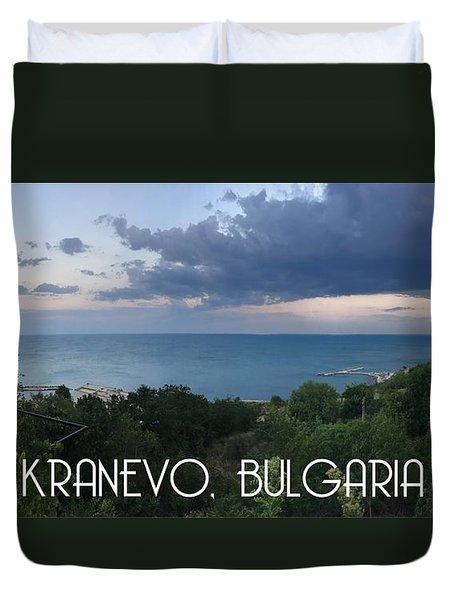 Kranevo Bulgaria Duvet Cover