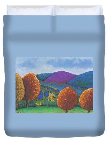 Kripalu Autumn Duvet Cover