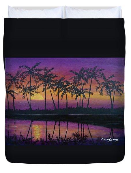 Kristine's Sunset Duvet Cover