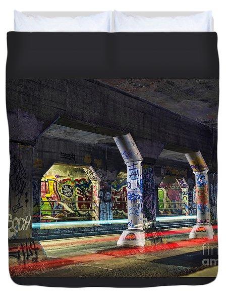 Krog Street Tunnel Duvet Cover