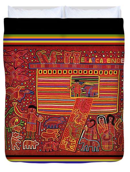 Kuna Indian Ark Duvet Cover