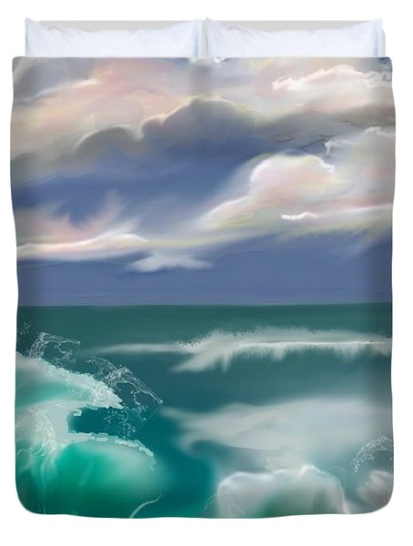 Kure Beach Duvet Cover