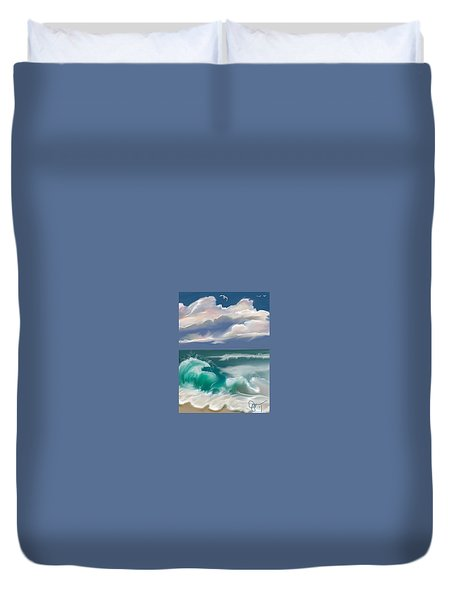 Kure Beach Duvet Cover