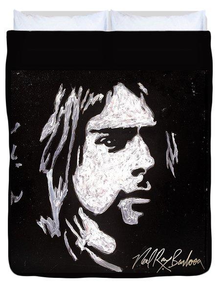 Kurt Kobain Duvet Cover