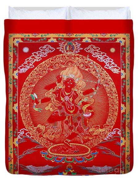 Kurukulle Devi Duvet Cover by Sergey Noskov