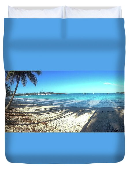 Kuto Bay Morning Duvet Cover