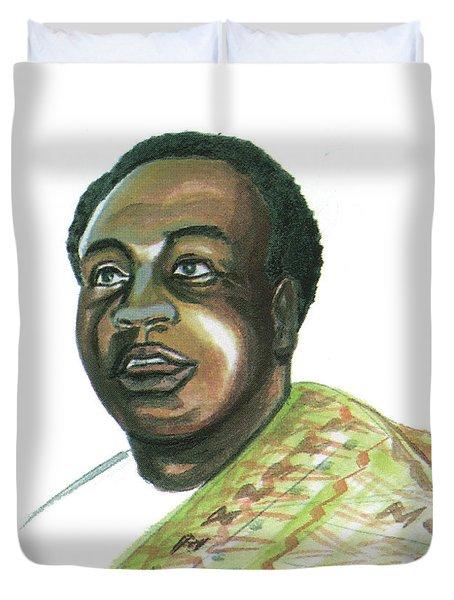 Kwame Nkrumah Duvet Cover