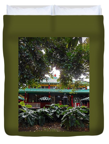 Kwon Yin Temple 4 Duvet Cover