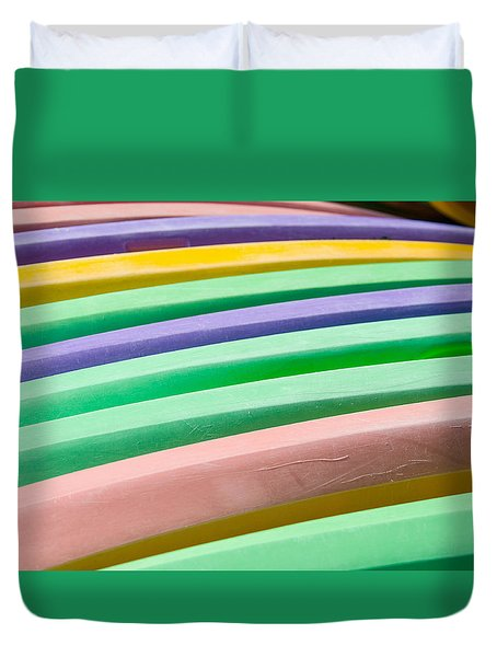 Kyak Rainbow Duvet Cover