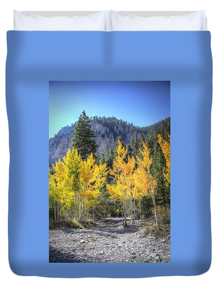 Kyle Canyon Aspen Duvet Cover