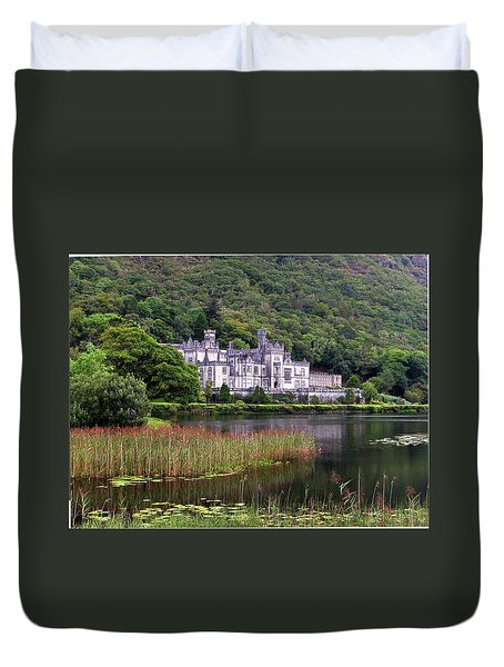 Kylemore Abbey, County Galway, Duvet Cover