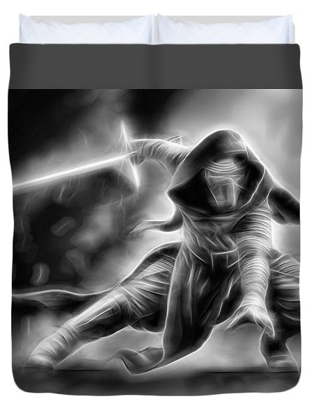 Kylo Ren Nothing Will Stand In Our Way Duvet Cover