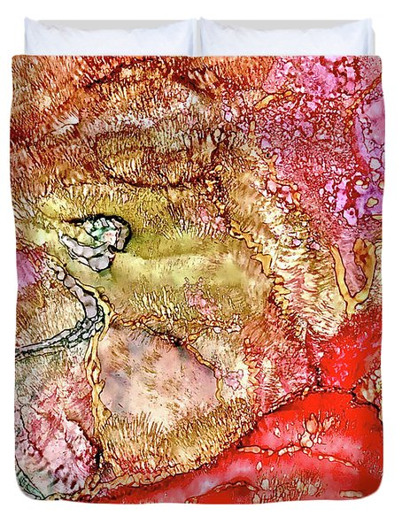 Kyoto Spring Duvet Cover