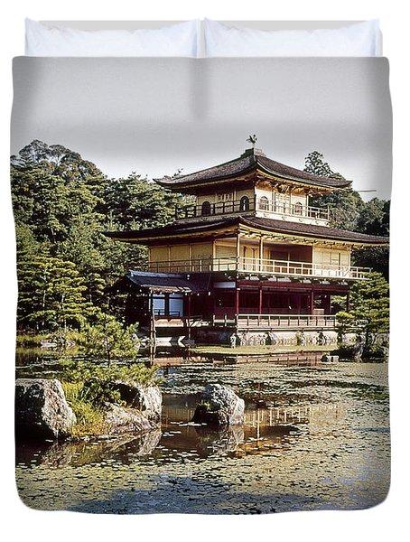 Kyoto: Zen Buddhist Temple Duvet Cover