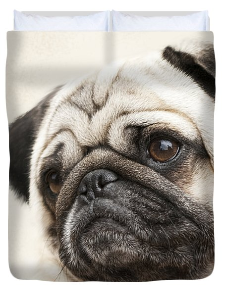 L-o-l-a Lola The Pug Duvet Cover