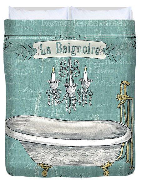 La Baignoire Duvet Cover