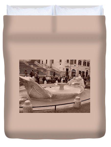 La Barcaccia Duvet Cover