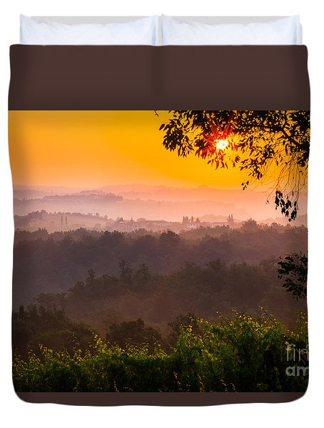La Bella Toscana Duvet Cover by Inge Johnsson