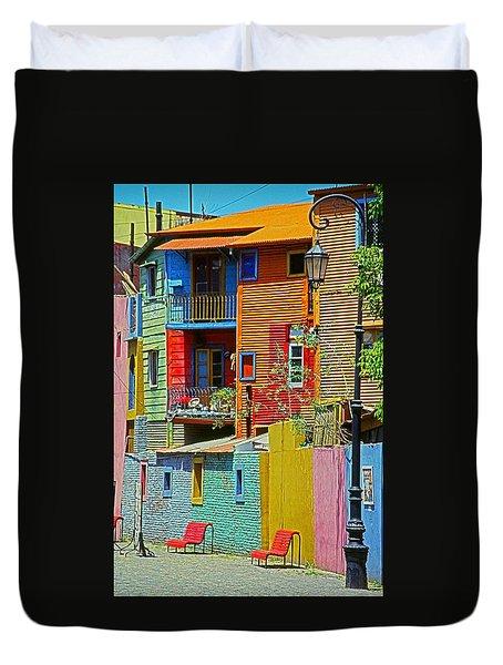 La Boca - Buenos Aires Duvet Cover