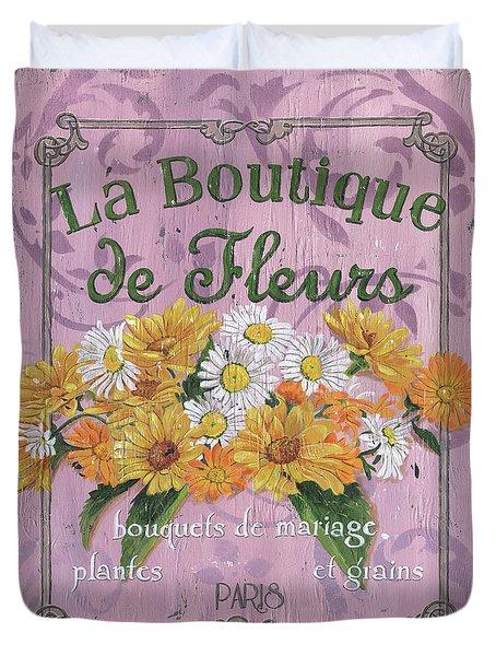 La Botanique 1 Duvet Cover