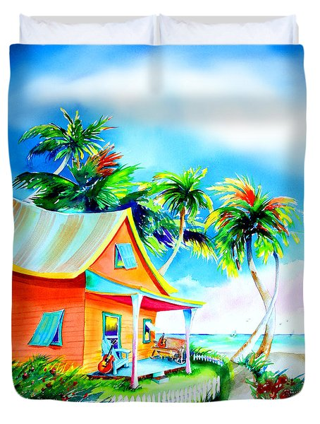 La Casa Cayo Hueso Duvet Cover