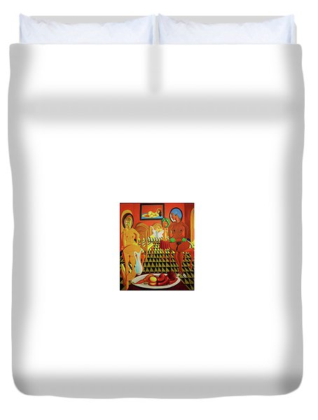 La Casa Celestina Psychopathology Of The Brown Paper Bag Criterion Duvet Cover