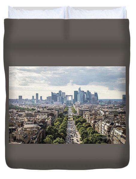 La Defense Paris Duvet Cover