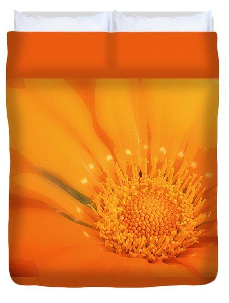 La Fleur D'orange Duvet Cover