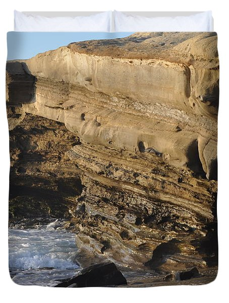 La Jolla Cove Duvet Cover