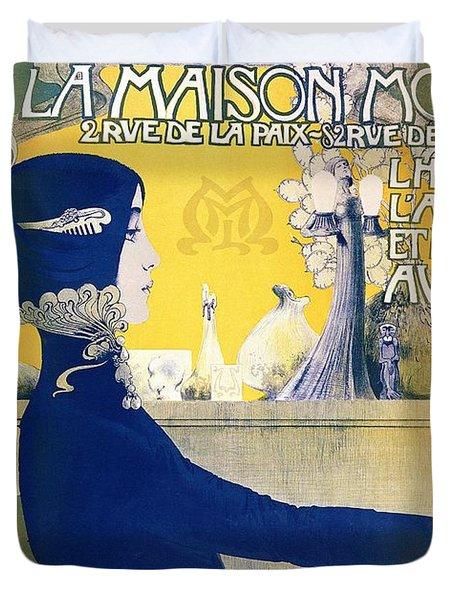 La Maison Moderne Duvet Cover by Manuel Orazi