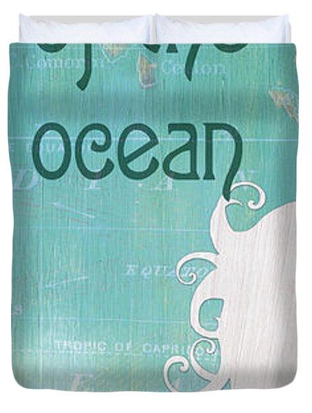 La Mer Mermaid 1 Duvet Cover