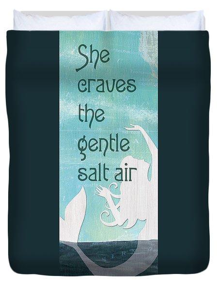 La Mer Mermaid 2 Duvet Cover