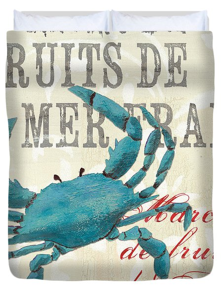 La Mer Shellfish 1 Duvet Cover