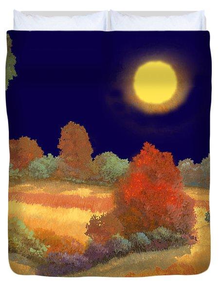 La Musica Della Notte Duvet Cover